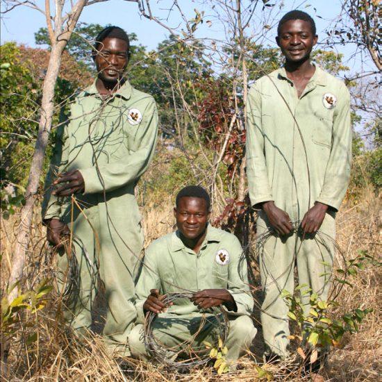 3-man Anti-poaching unit